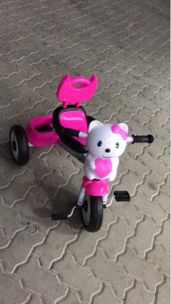 Used New Kids cat Tricycle  in Dubai, UAE