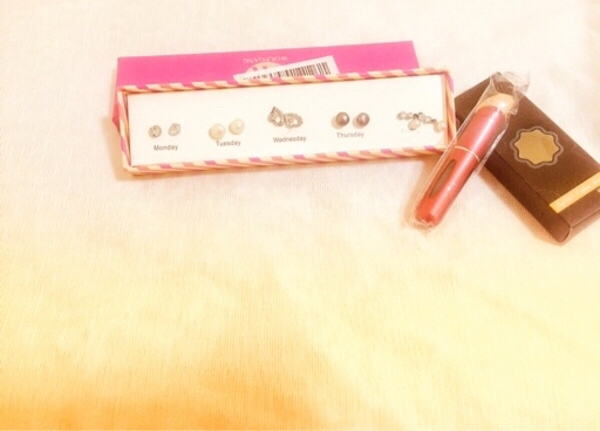 Used Wolfgang earrings + Perfume Atomizer in Dubai, UAE