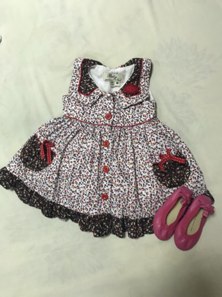 Used Dress with shoes in Dubai, UAE
