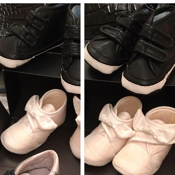 Used Baby Shoes Size 2/18 and 0-3 month  in Dubai, UAE