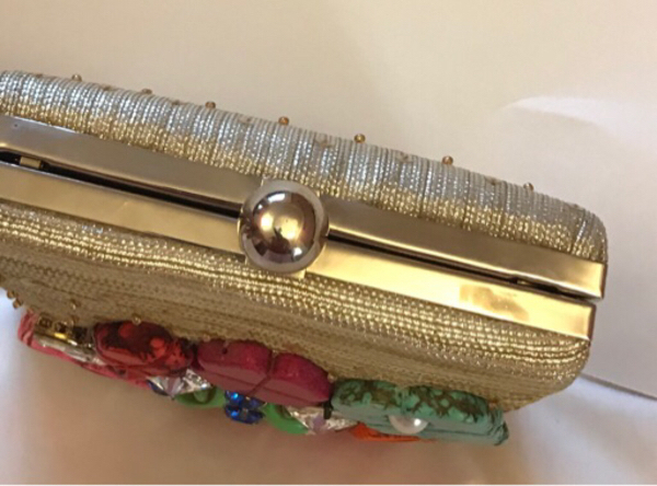 Used Colorful Embellished Parties Clutch in Dubai, UAE