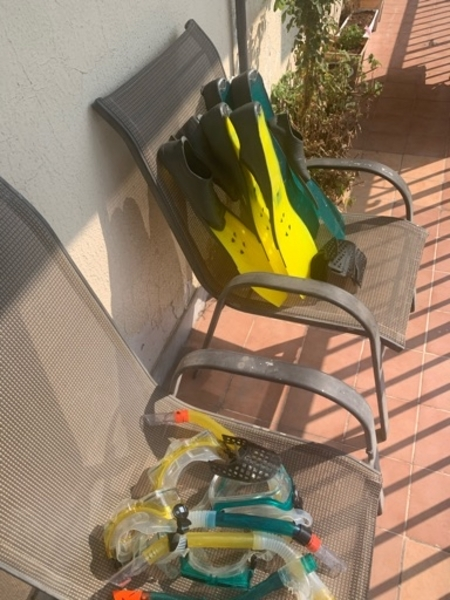 Used Snorkeling set in Dubai, UAE