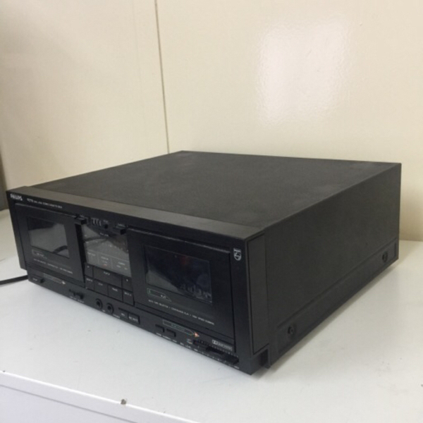 Used Philips dual cassette deck in Dubai, UAE