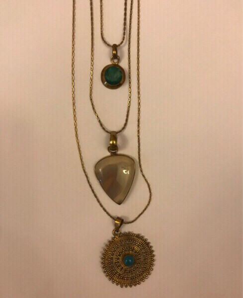 Used Accessory: Collection of Three Necklaces in Dubai, UAE