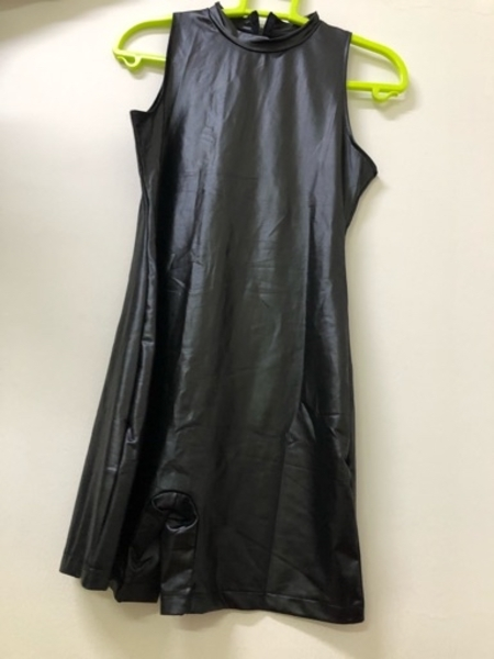 Used Leather dress brand new size L in Dubai, UAE