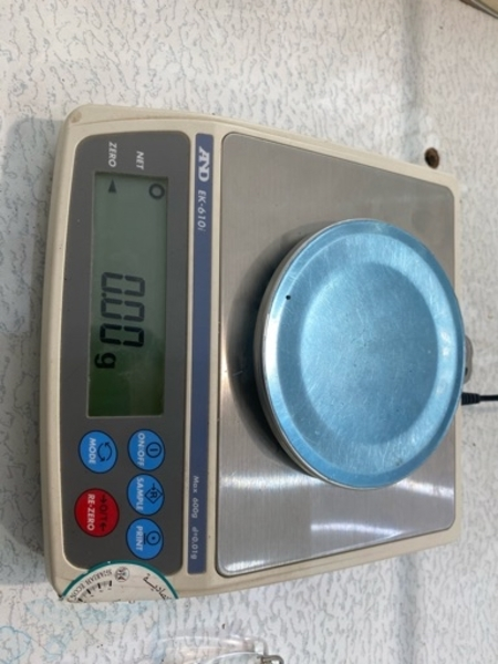 Used AND Gold/Silver weighing balance 600Gram in Dubai, UAE