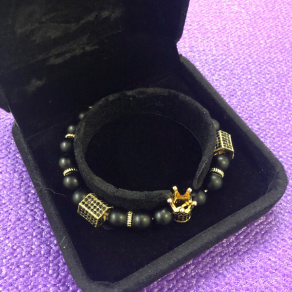 Used Couple Charm Crown Bracelets in Dubai, UAE