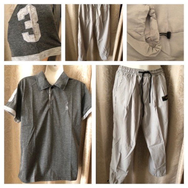 Used Men's T-Shirt and pants size M in Dubai, UAE
