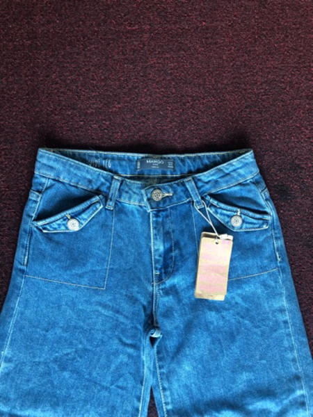 Used Mango jeans flare for a girl size 9-10 in Dubai, UAE