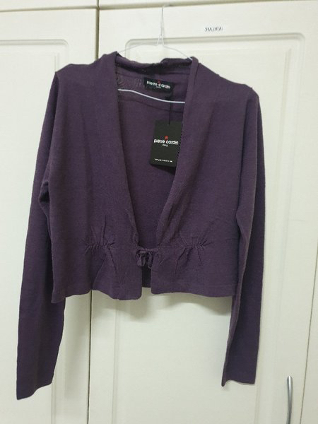 Used SALE ORIGINAL PIERRE CARDIN COAT PURPLE in Dubai, UAE