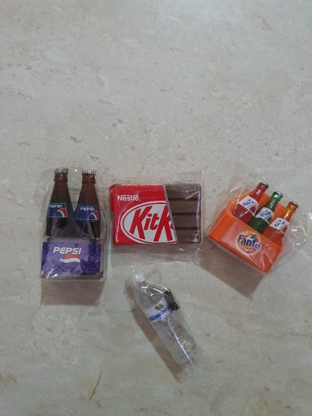 Used Magnets for Refrigerator  ( 4 Pcs ) New in Dubai, UAE