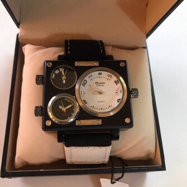 Used Oulm  wristwatch ⌚️ for men(new) in Dubai, UAE