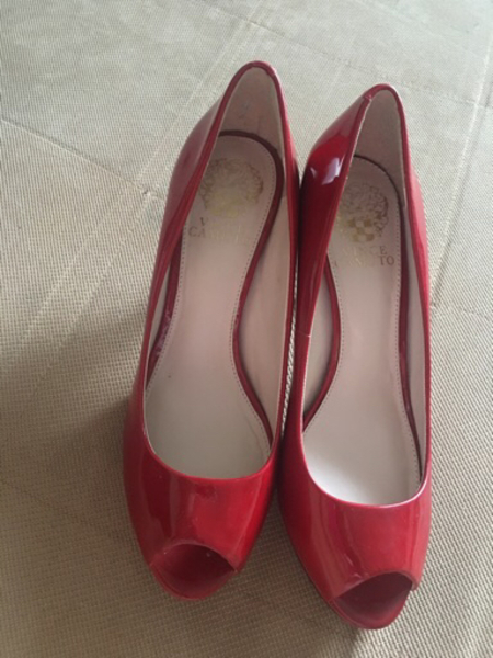 Used 2-brand new heels size37 authentic in Dubai, UAE