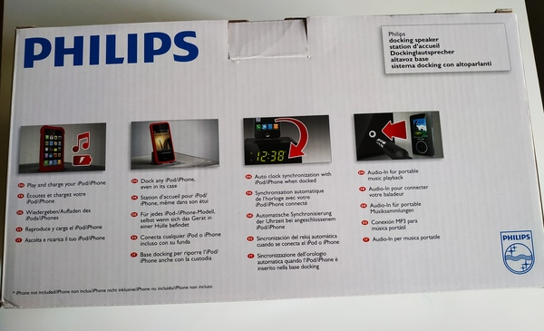 Used PHILIPS Docking Speaker with Aux Input in Dubai, UAE