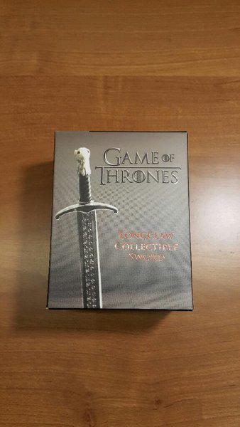 Used Game of Thrones Longclaw Sword & Book in Dubai, UAE
