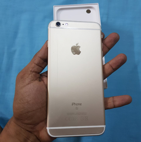 Used iPhone 6s Plus 64 GB Gold Perfect Condition With All Accessories Box And 3 360 Full Protection Covers Free. in Dubai, UAE