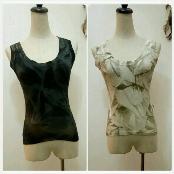 Used 2 tops golden and biege in Dubai, UAE