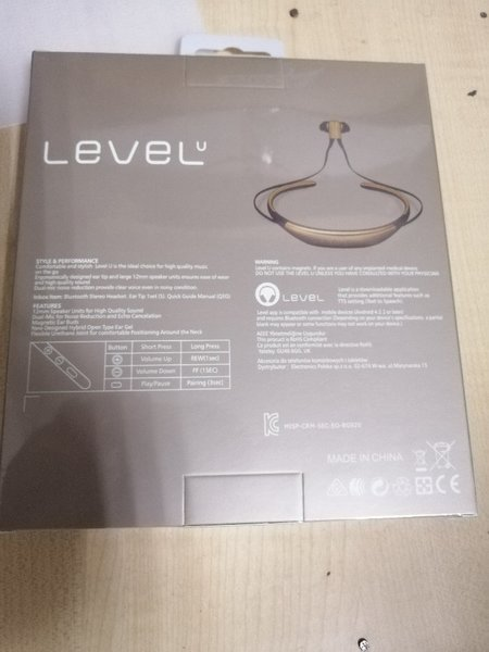 Used Best level u Bluetooth handset in Dubai, UAE