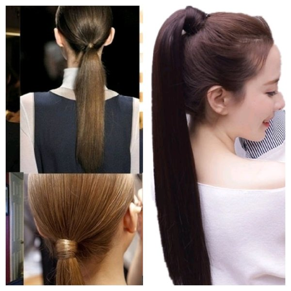 Used New pony tail wig, looks like natural in Dubai, UAE
