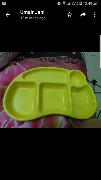 Used Baby feeding plate in Dubai, UAE