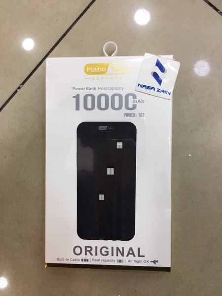Used HAINO TEKO power bank 10000 mah in Dubai, UAE