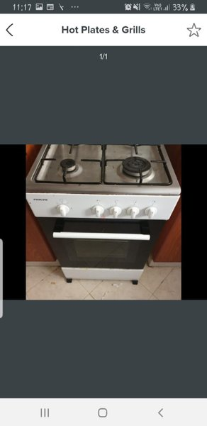 Used Gas stove with grill oven in Dubai, UAE
