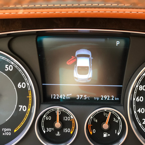 Used Grey Bentley Continental GT W12, Mileage Of 12,200km, Excellent Condition! in Dubai, UAE
