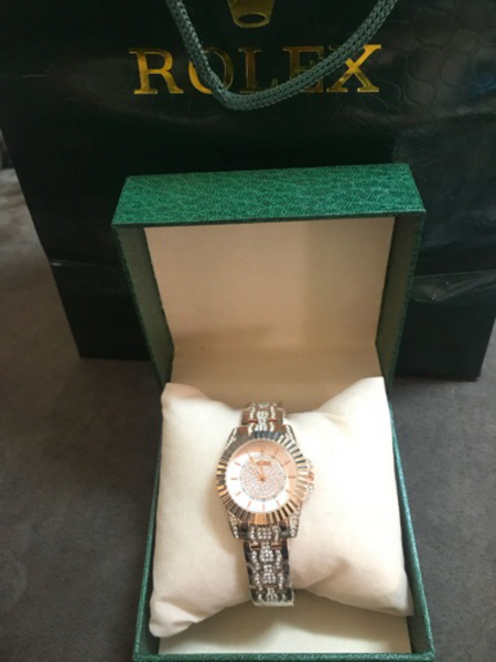 Used Gold Rose Rolex watch  in Dubai, UAE