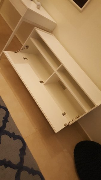 Used Table with drawers. in Dubai, UAE
