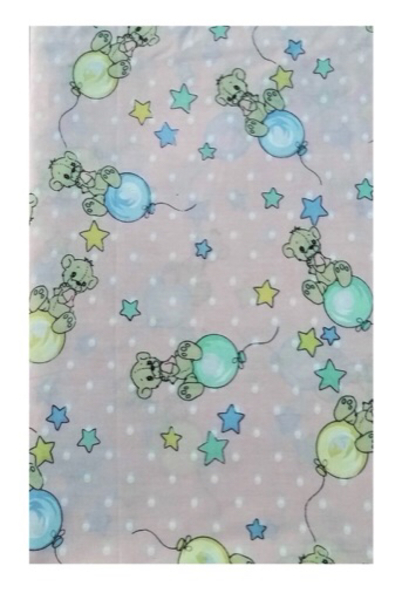 Cute Balloon Cotton Fabric
