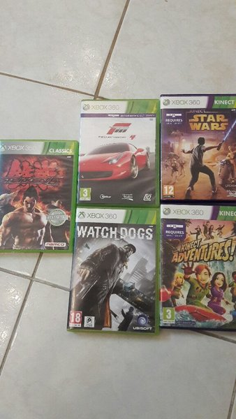 Used X Box 360 Kinect with games in Dubai, UAE