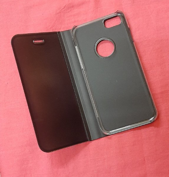 Used Clear view touch flip stand case in Dubai, UAE