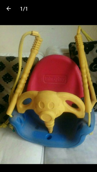Used Strong swing for kids can be fixed indoo in Dubai, UAE