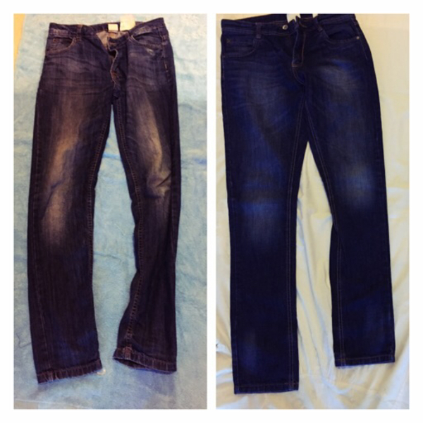 Used 2 Boy's jeans 14yrs latest  in Dubai, UAE