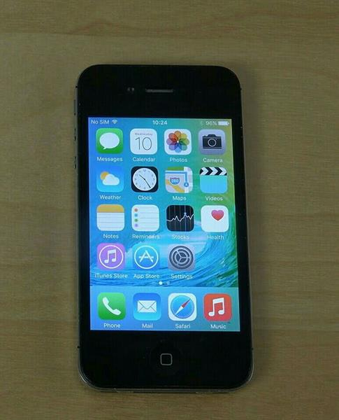 Used iPhone 4S 64GB Black in Dubai, UAE