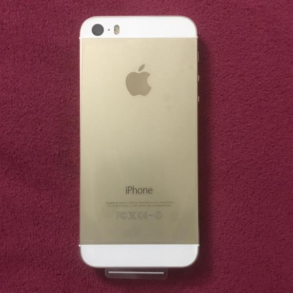 iphone 5s. 32GB.   gold. color. late used