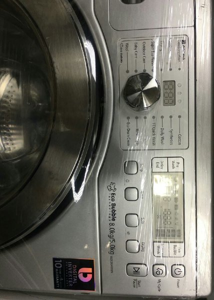Used Samsung 8/5kg full dryer and automatic in Dubai, UAE