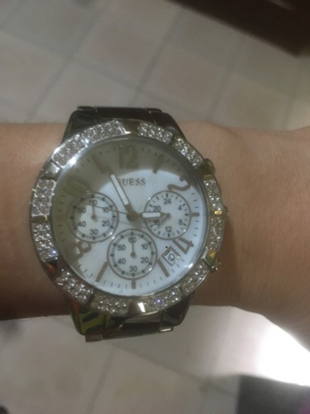 Used Guess watch for ladies with swarovski in Dubai, UAE