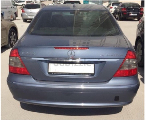 Used Mercedes E200 Kompressor 2007 in Dubai, UAE