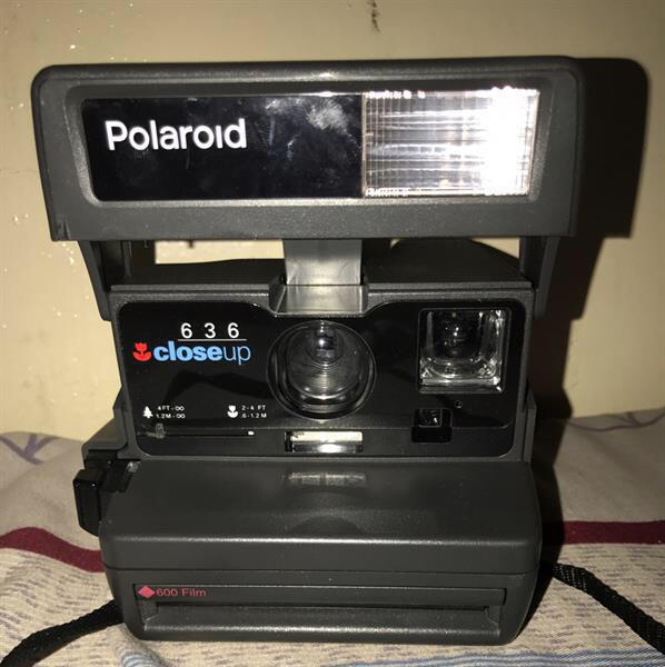 Used Polaroid Closeup 636 Instant Photo Vintage Camera In Good Condition Like New in Dubai, UAE