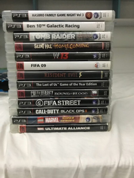 Used PS3 games used in Dubai, UAE