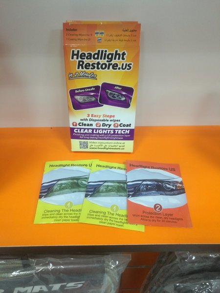 Used Headlights cleaner in Dubai, UAE