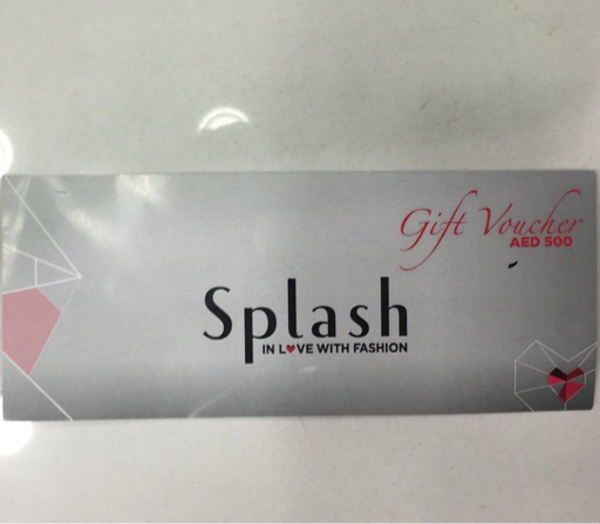 Used Gift voucher 500/-dhs in Dubai, UAE