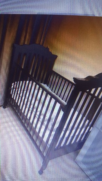 Used Baby bed with matress in Dubai, UAE