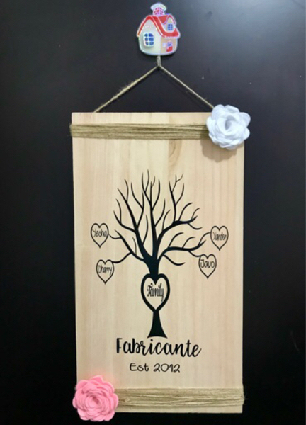 Used Wooden Family Tree in Dubai, UAE