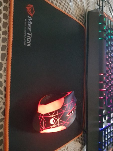 Used Gaming mouse and headset and keyboard in Dubai, UAE
