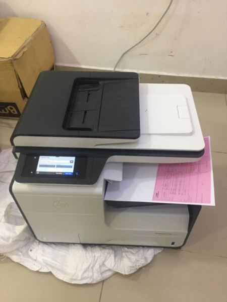 Used Printer HP PageWide Pro 477dw color mult in Dubai, UAE