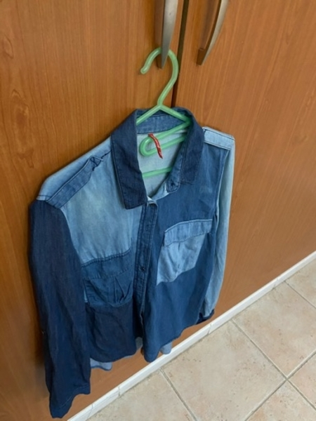 Used Jeans shirt from stradivarious in Dubai, UAE