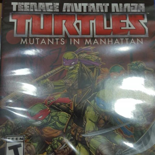 Used Ps4 Game Teenage Mutant Ninja Turtle Brand New in Dubai, UAE