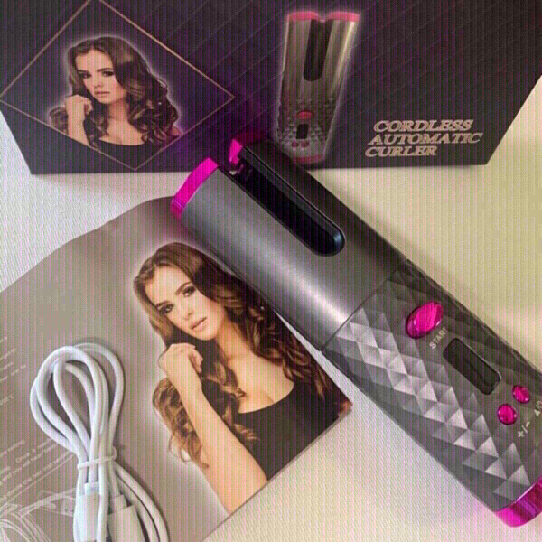 Used Cordless Automatic Hair Curler in Dubai, UAE